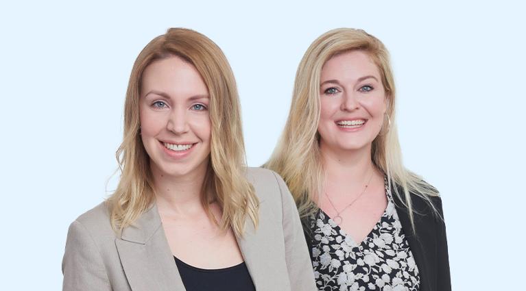 Portrait Daria Wagner und Laura Flintrop