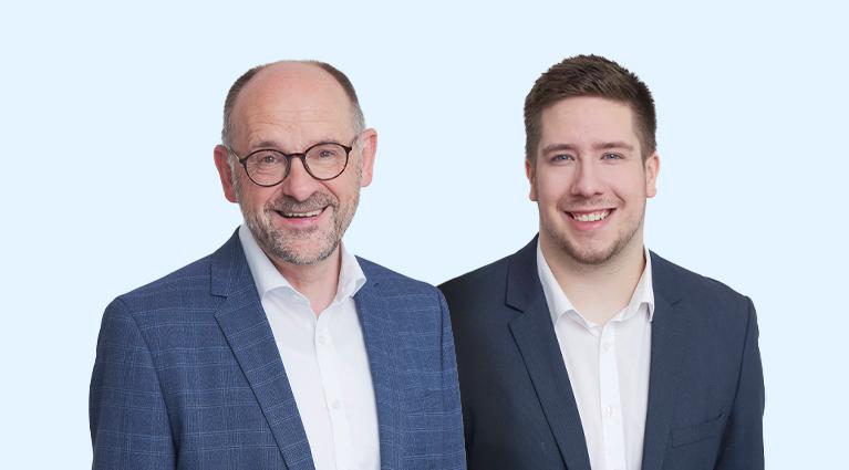 Portrait Dirk Janssen und Tim Rosenau
