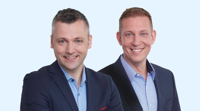 Portrait Fabian Häfner und David Gillmeister